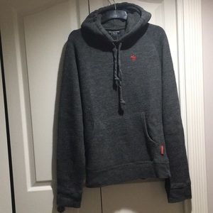 Abercrombie & Fitch men's wool blend hoodie size M